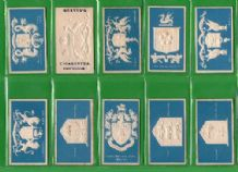 Tobacco Cigarette cards Borough Arms 1900 by Dexter